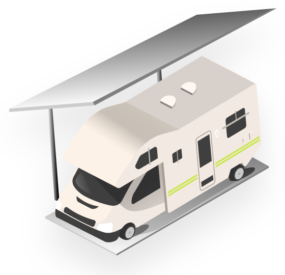 Covered RV / Boat Parking